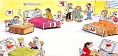 الاختبارات السريرية النهائية بالمستشفى الجامعى